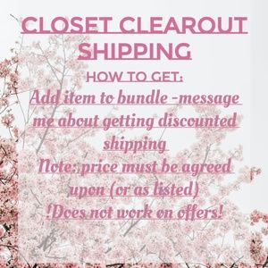 Other - Discounted Shipping
